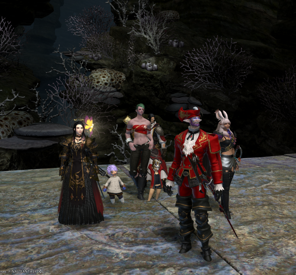 Gathered for the beginning of the third Eden fight