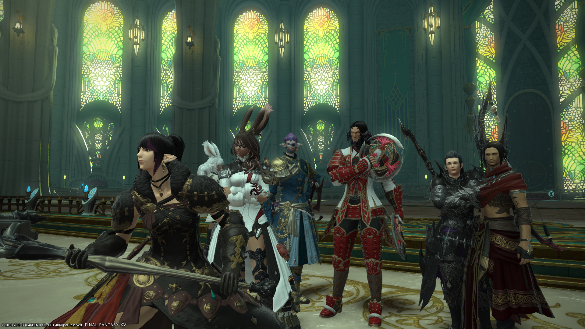 FC Titania Ex learning party, waiting to go